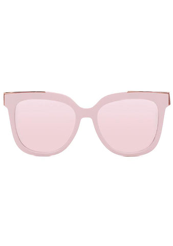 Coco Sunglasses in Rose Gold