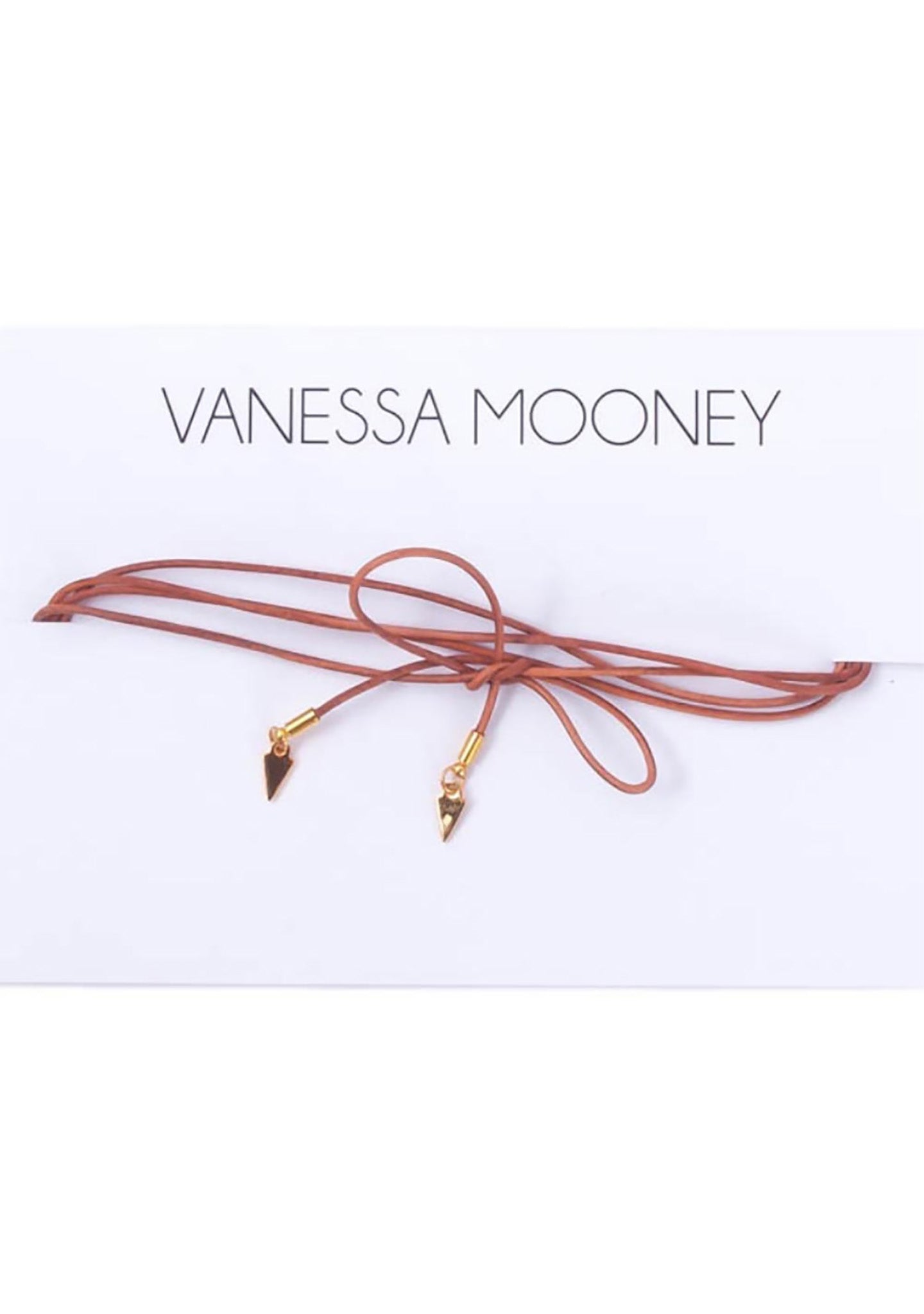 Vanessa Mooney The Vista Bolo Wrap in Tan