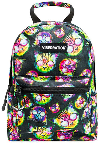 Vibedration Kosmic Kitties H2O 1.0L Mini Hydration Backpack