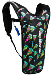 Vibedration Cosmic Pizza GA 2.0L Hydration Pack