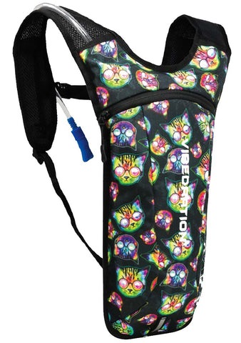 Vibedration Kosmic Kitties GA 2.0L Hydration Pack