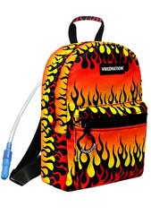 Blazing Fire AF Mini Backpack in Orange Yellow
