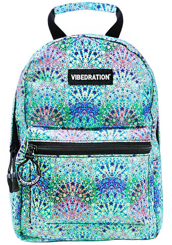 Mystic Boho Forest Mini Backpack in Blue
