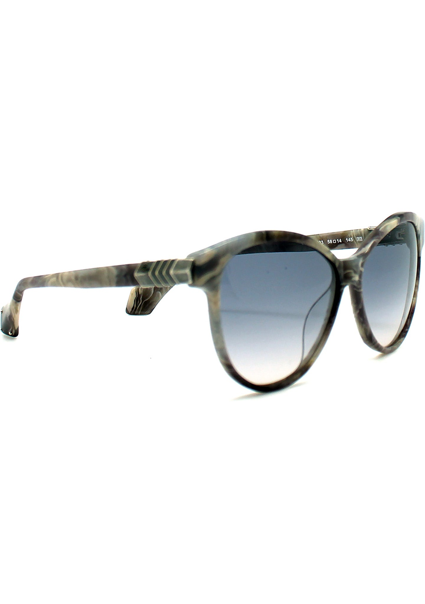 Vivienne Westwood Armour Cat Eye Sunglasses in Marble