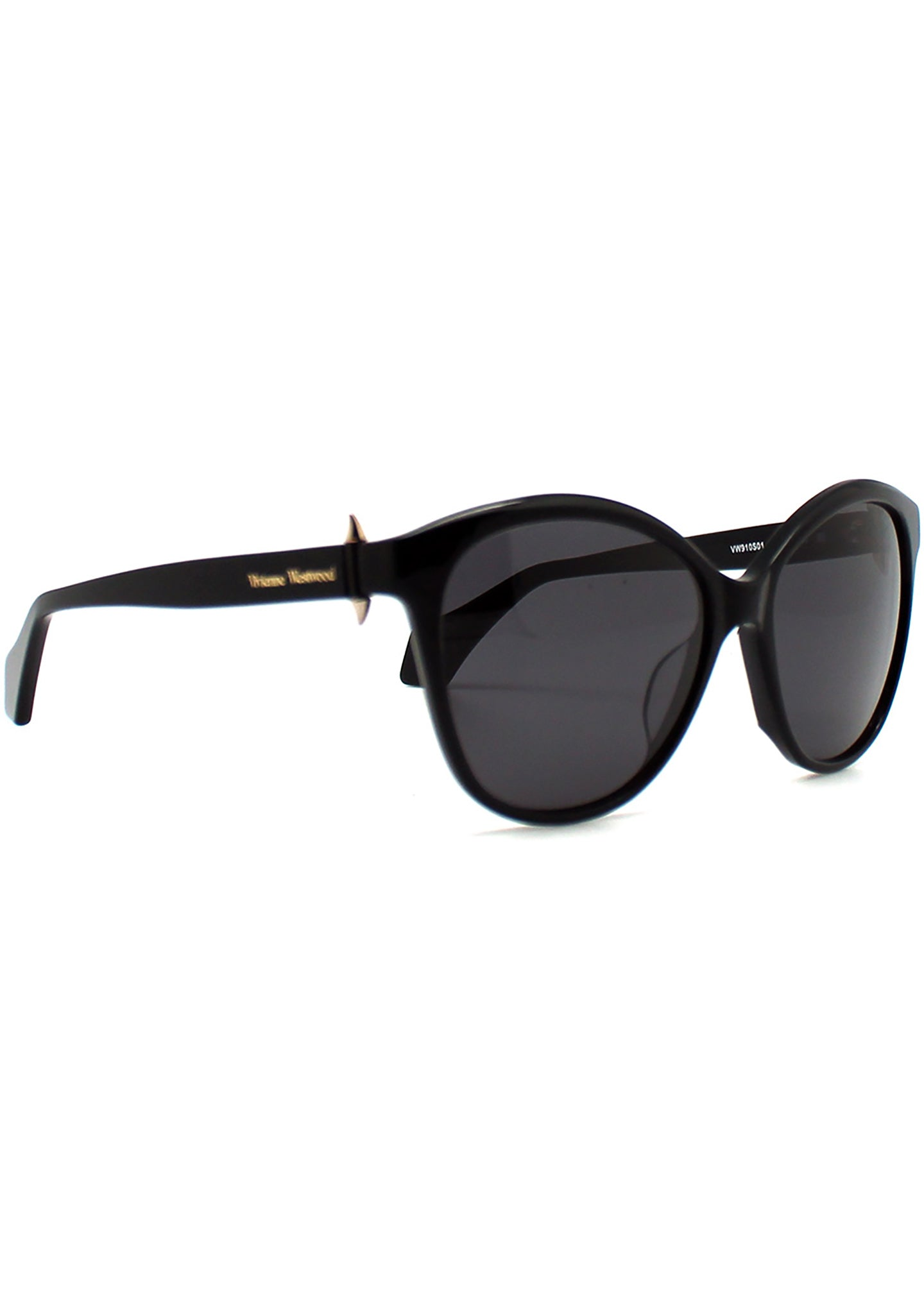 Vivienne Westwood Horn Studs Sunglasses in Black