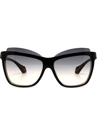 Vivienne Westwood Cat Eye Sunglasses in Black