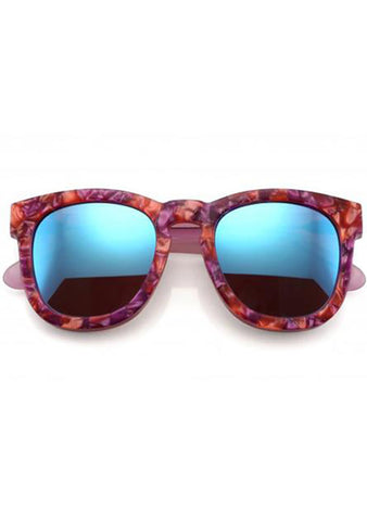 Wildfox Sun Classic Fox Deluxe Sunglasses in Wildflower