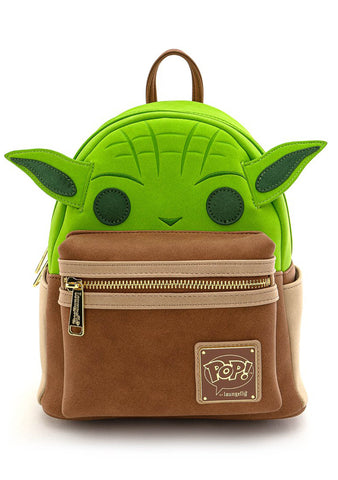X Star Wars Yoda Cosplay Mini Backpack