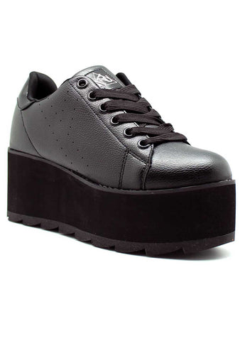 Y.R.U. Lala Platform Sneakers in Black