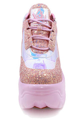 Matrixx Sneakers in Pink Atlantis