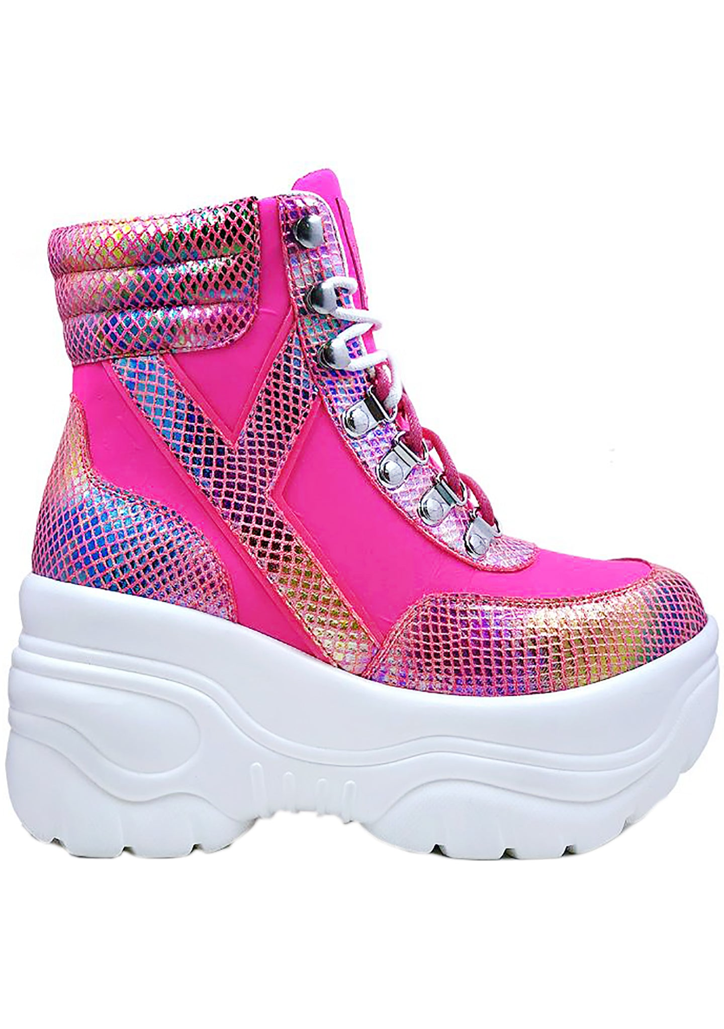 Matrixx Hi 2 Queen Cobra Platform Sneakers