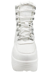 Matrixx Hi 2 Platform Sneakers in White