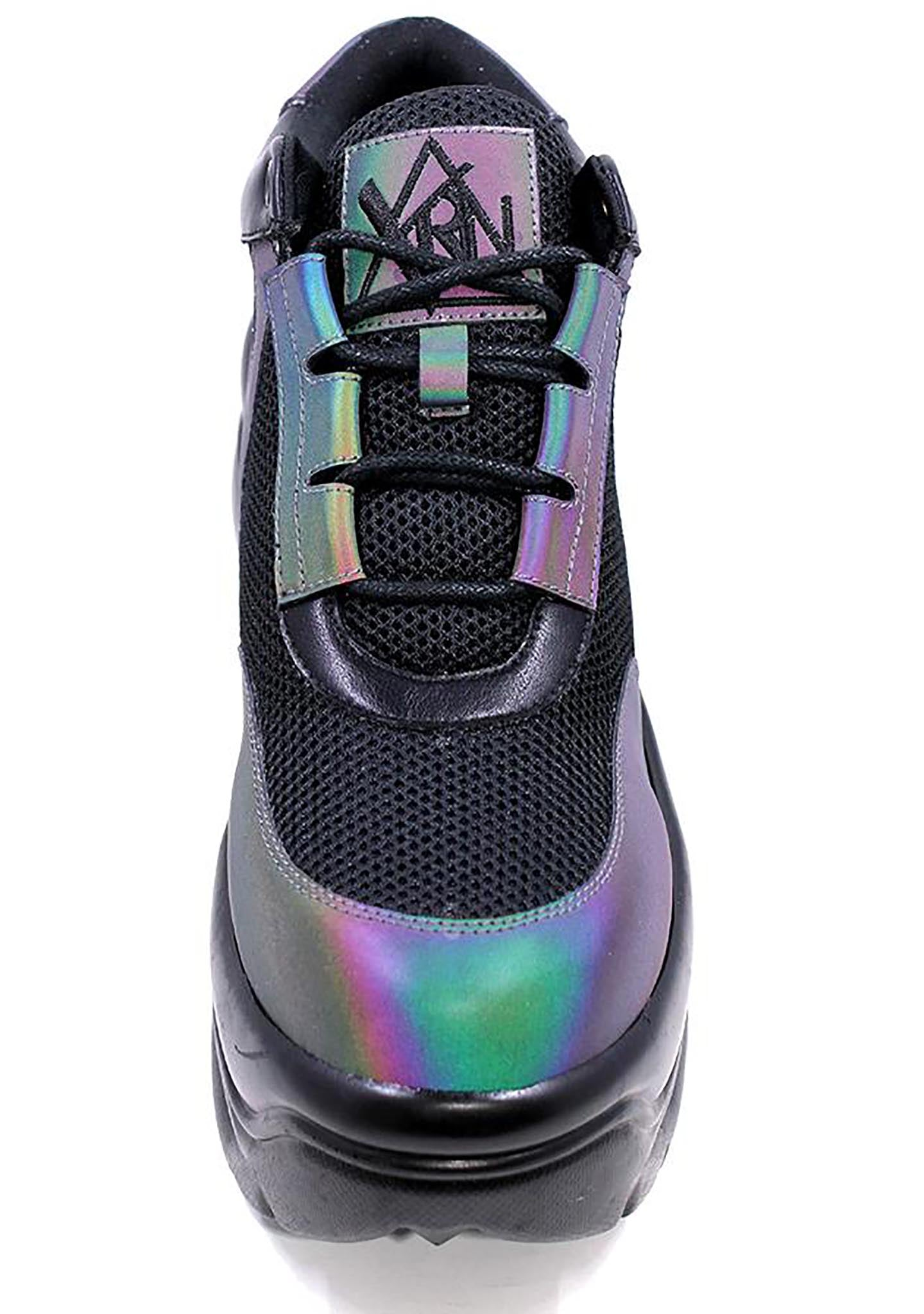 Matrixx Sneakers in Reflective Black