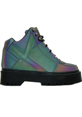 Y.R.U. Qozmo Slayr Military Boots in Reflective