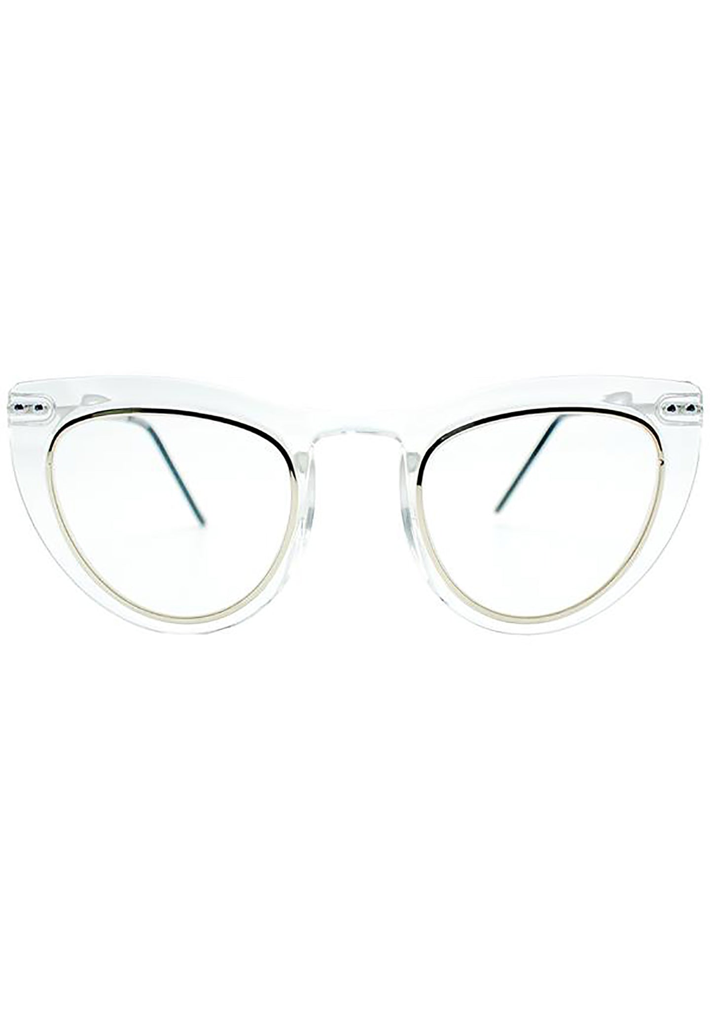 Spitfire Outward Urge Sunglasses in Clear