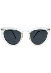 Spitfire Outward Urge Sunglasses in Clear/Black