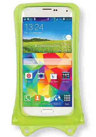 "DiCAPac 5.1"" Universal Waterproof Smartphone Case in Green"