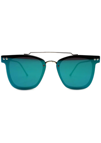 Spitfire FTL 2 Sunglasses in Black/Green