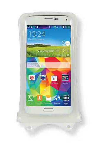 "DiCAPac 5.1"" Universal Waterproof Smartphone Case in White"