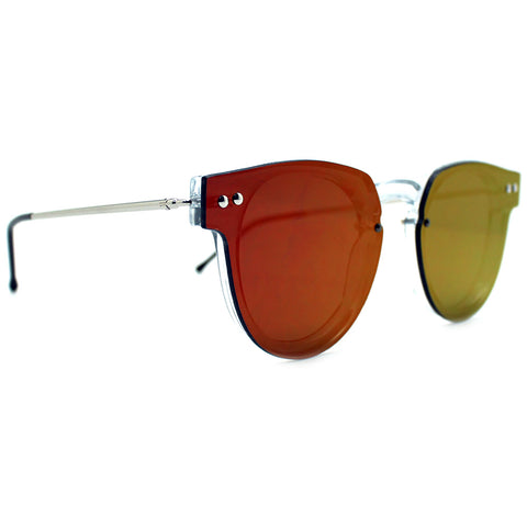 Spitfire Sharper Edge 2 Sunglasses in Clear/Red