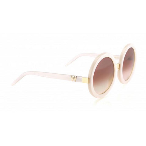 Wildfox Sun Malibu Sunglasses in Pearl White