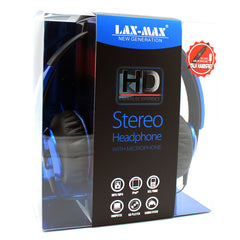 HD Stereo Headphones in Blue