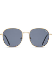 Quay Australia Jezabell Sunglasses in Gold/Smoke
