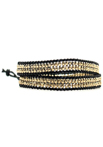 X Katie Soleil Glory Double Wrap Beaded Bracelet