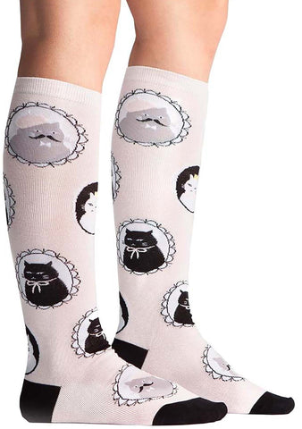 Sock It To Me Cameow Knee High Socks