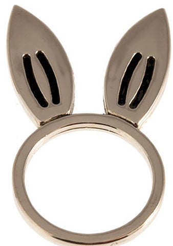 Timi Rabbit Ring in Silver
