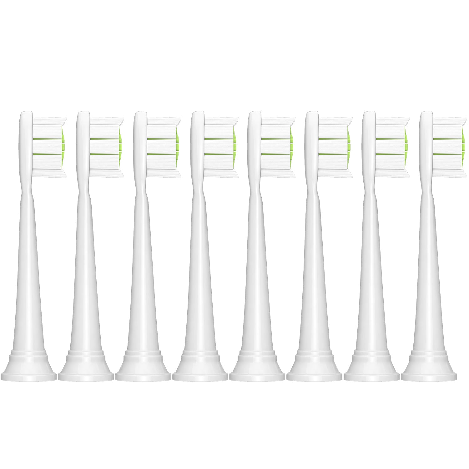 Brushmo premium replacement toothbrush heads for Philips Sonicare DiamondClean, White