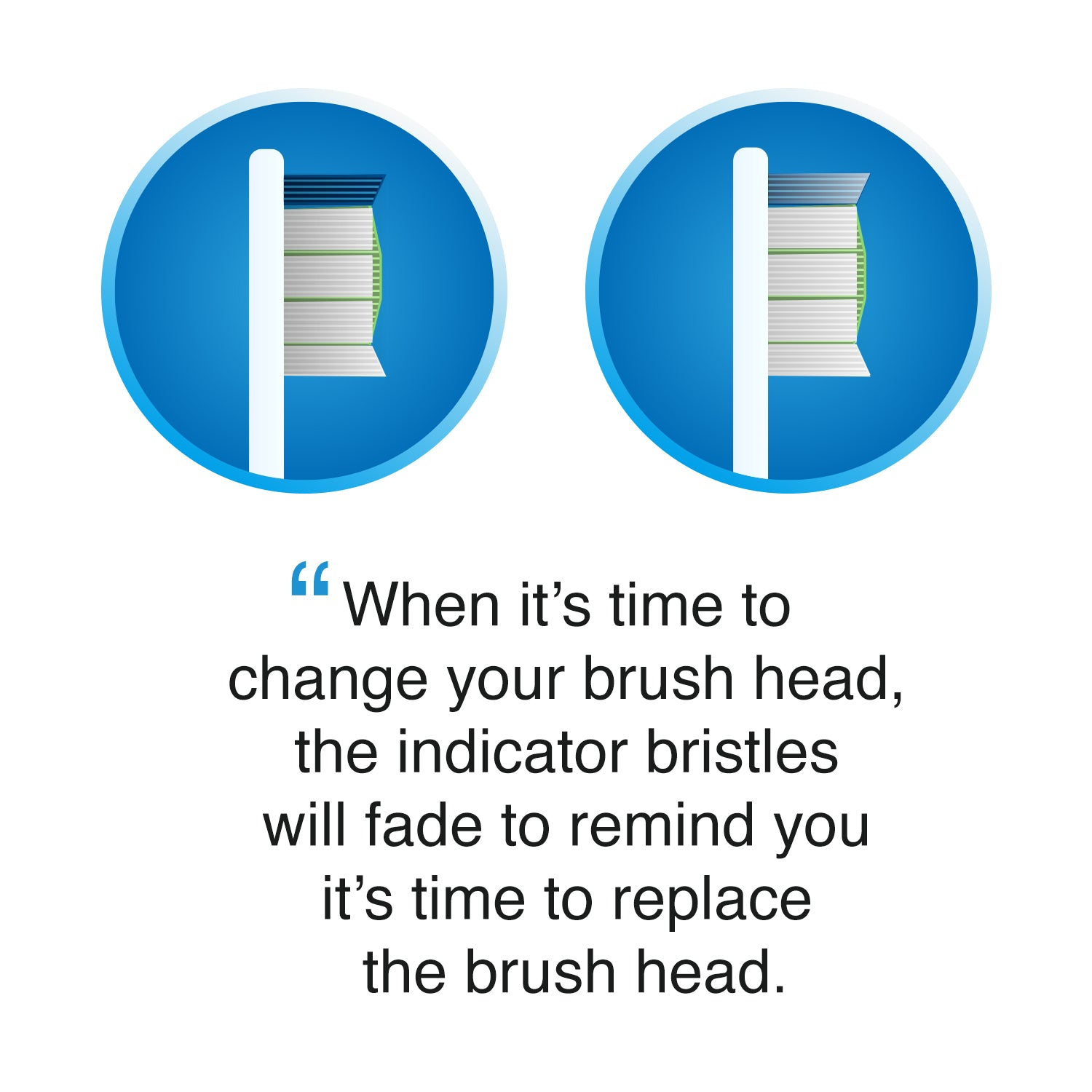 Brushmo compact replacement toothbrush heads for Philips Sonicare HX6023 ProResults, White