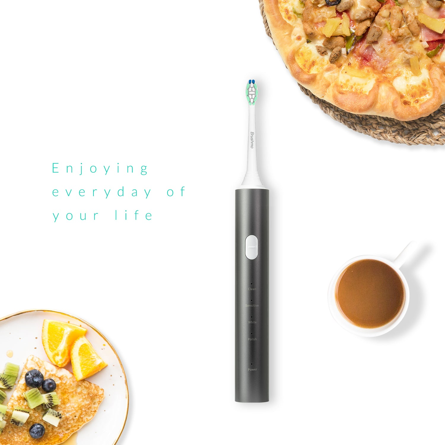 Brushmo Rechargeable Sonic Toothbrush