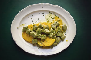 How To Make Matcha Gnocchi with Ginger, Orange Butter & Butternut Squash