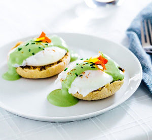 How To Make Matcha Eggs Benedict