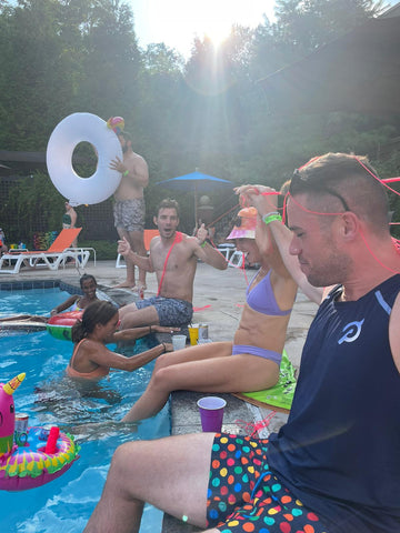 Pool Party with Floats by LOTELI