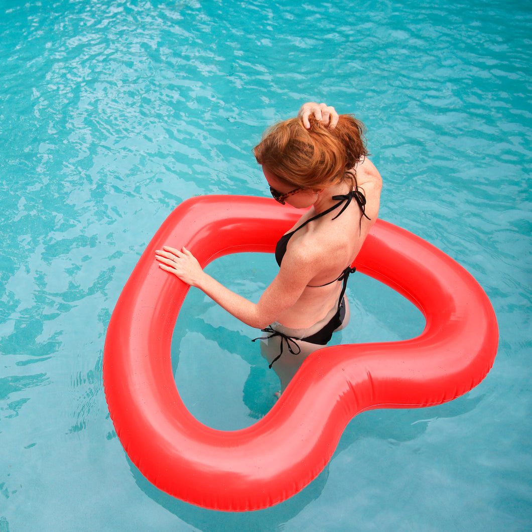 The Heart Pool Float