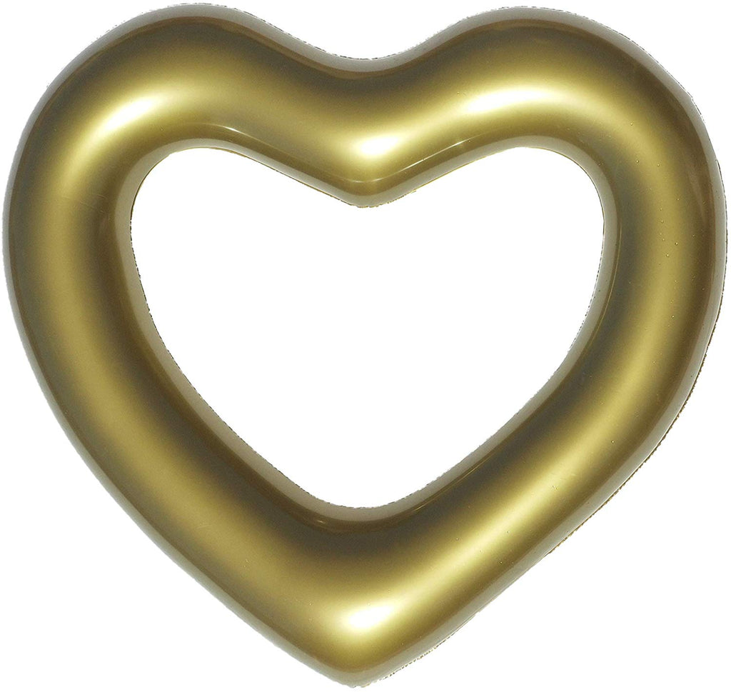 The Heart Float: Gold