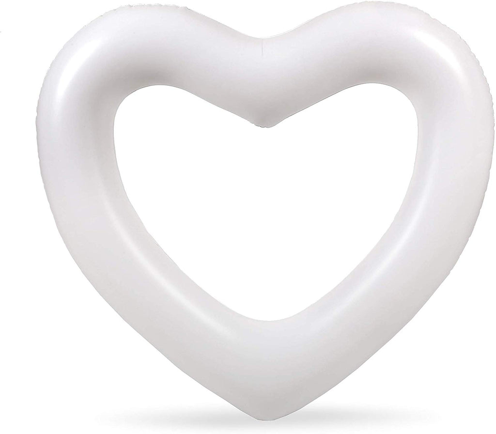 The Heart Float: White