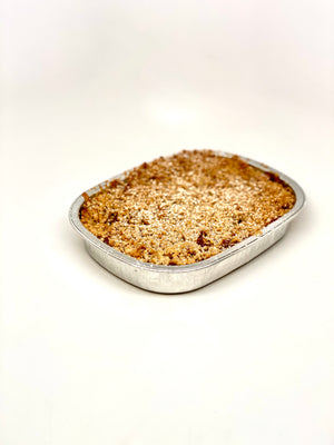 Freezer to Oven Apple Crisp