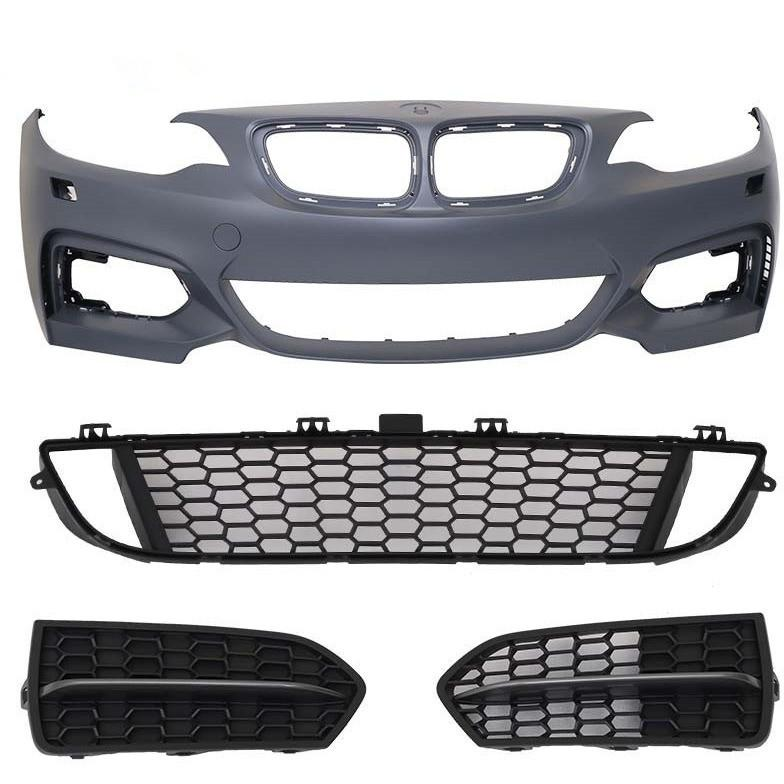 bmw f22 msport mtech style front bumper
