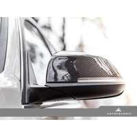 AUTOTECKNIC CARBON FIBER REPLACEMENT MIRROR COVERS - AEUROPLUG