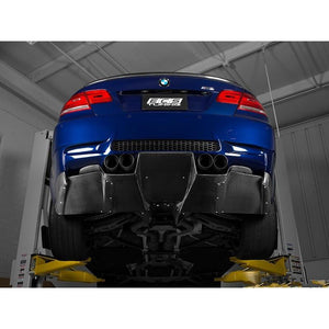 bmw e92 m3 downforce style carbon fiber diffuser