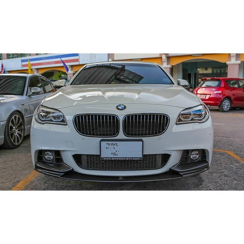 bmw f10 mtech performance style carbon fiber front lip