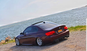 E92 Carbon Fiber Performance Diffuser Quad
