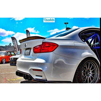 DINMANN BMW F8X M3 / M4 CARBON FIBER REAR TRUNK LIP - AEUROPLUG