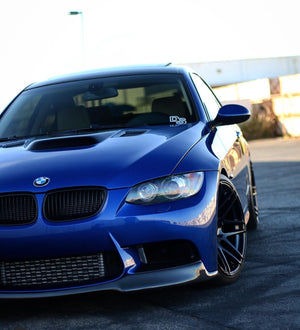 E9X M3 V-Style Carbon Fiber Lip AVAILABLE