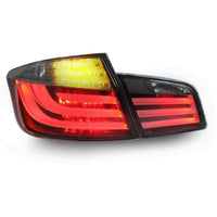 bmw f10 white line tail lights kit