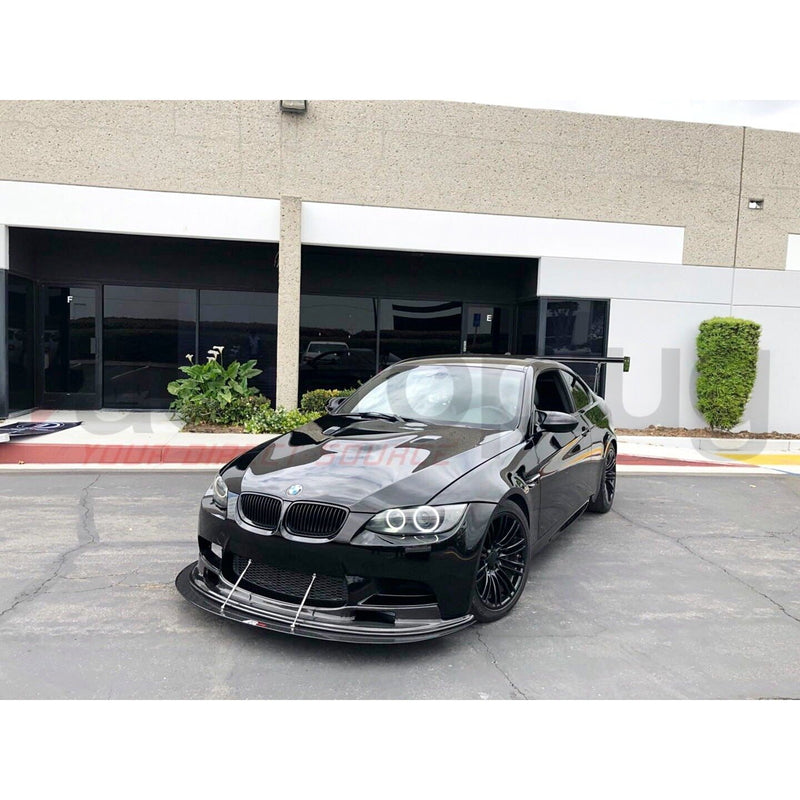 BMW E9X M3 ARKYM AERORACE COMPETITION STYLE CARBON FIBER FRONT LIP - AEUROPLUG
