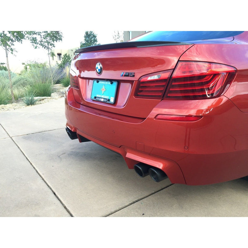 BMW F10 M5 CARBON FIBER EXHAUST TIPS